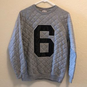 NWT ASOS Quilted Oversize Sweater